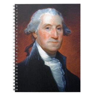 Cadernos Espiral Primeiro presidente: George Washington
