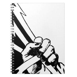 Cadernos Espiral Punho do poder