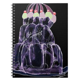 Cadernos Espiral rato do jello do alcaçuz dos fernandes tony