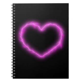 Cadernos Espiral Relâmpago do coração
