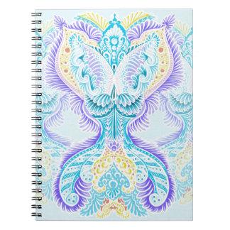 Cadernos Espiral Renascimento, idade nova, meditação, boho, hippie
