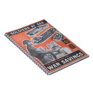 Cadernos Espiral Reprodução do cartaz britânico do tempo de guerra
