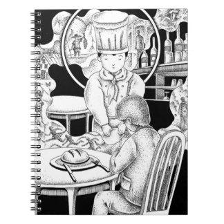 Cadernos Espiral Restaurante memorável
