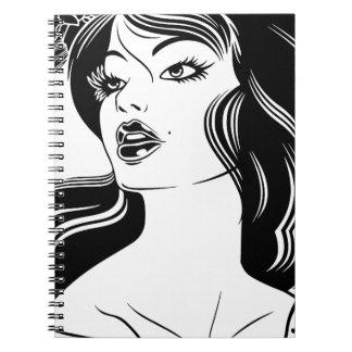 Cadernos Espiral Retrato