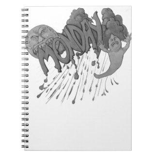 Cadernos Espiral Segunda-feira