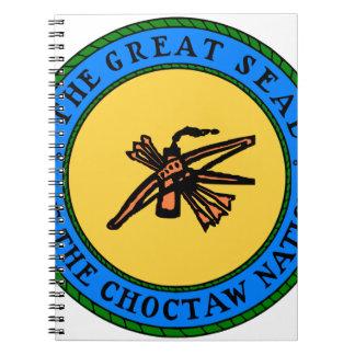 Cadernos Espiral Selo do Choctaw