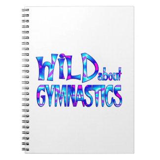 Cadernos Espiral Selvagem sobre a ginástica