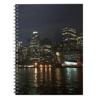 Cadernos Espiral Skyline de Manhattan