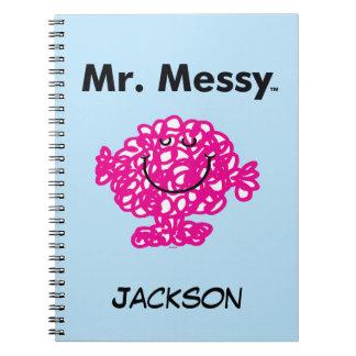 Cadernos Espiral Sr. Desarrumado Ser Bonito do Sr. Homem |, mas