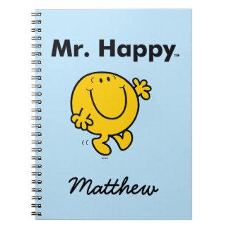 Cadernos Espiral Sr. Feliz Ser Sempre Feliz do Sr. Homem |
