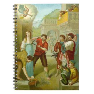 Cadernos Espiral St. Agatha (M 003) (estilo #3)