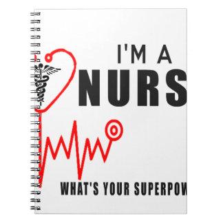 Cadernos Espiral Sua enfermeira da superpotência