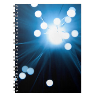 Cadernos Espiral Sumário da fibra óptica