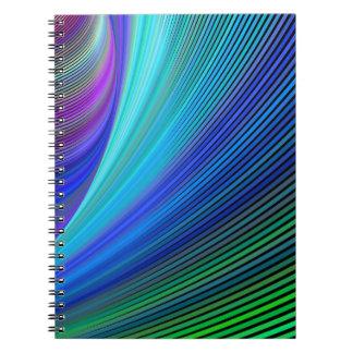 Cadernos Espiral Surfar em uma onda mágica