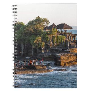 Cadernos Espiral Tanah-Lote Bali Indonésia