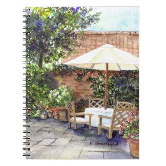 Cadernos Espiral Terraço da casa senhorial, York
