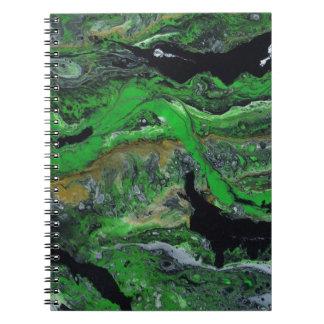 Cadernos Espiral Terras verdes