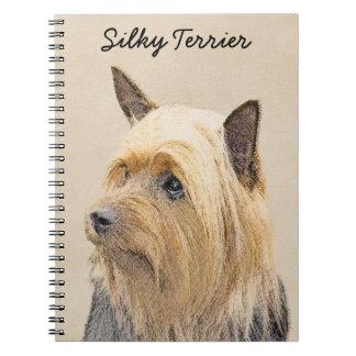 Cadernos Espiral Terrier de seda