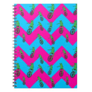 Cadernos Espiral Teste padrão de Dat Boi