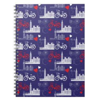 Cadernos Espiral Teste padrão dos marcos de Londres