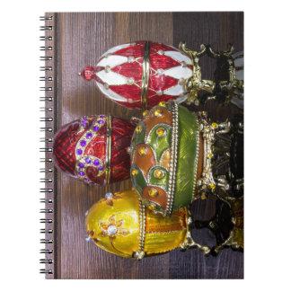Cadernos Espiral Tiro do ovo do grupo