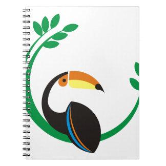 Cadernos Espiral Toucan