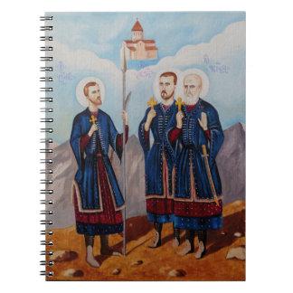 Cadernos Espiral Trabalhos de arte de Christan Relious