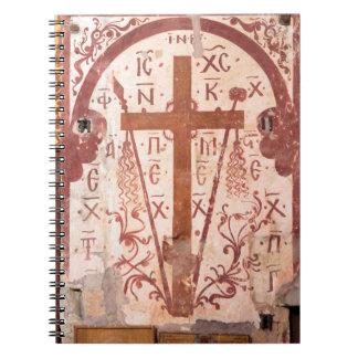 Cadernos Espiral Trabalhos de arte transversais de Christain