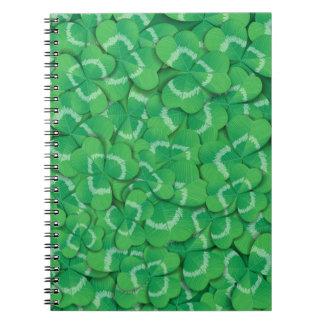 Cadernos Espiral Trevos