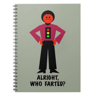 Cadernos Espiral Tudo bem, quem Farted?