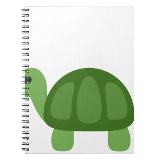 Cadernos Espiral Turtle Emoji