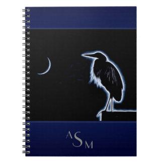 Cadernos Espiral Um fundo azul elétrico do azul da