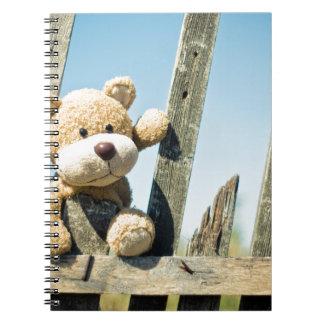 Cadernos Espiral Ursinho bonito