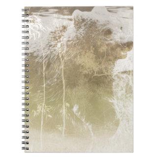 Cadernos Espiral Urso expor