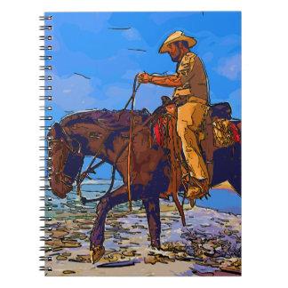 Cadernos Espiral Vaqueiro montado