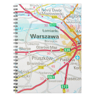 Cadernos Espiral Varsóvia, Varsóvia no Polônia