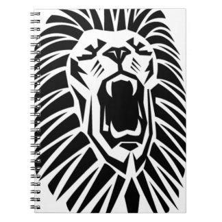 Cadernos Espiral vecto principal do leão