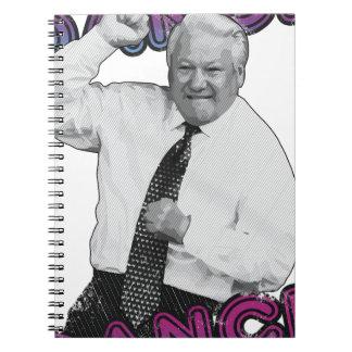 Cadernos Espiral Verão quente 1996 da dança da dança de Boris