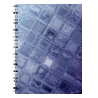 Cadernos Espiral Vidro