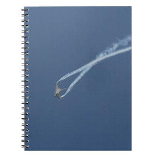 Cadernos Espiral Vôo 1 do tufão de Eurofighter