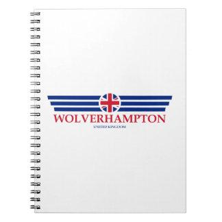 Cadernos Espiral Wolverhampton