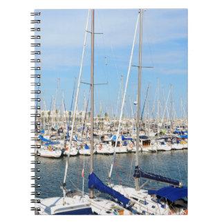 Cadernos Espiral Yachting