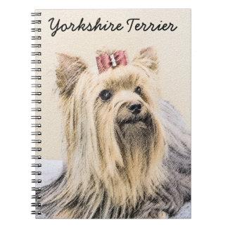Cadernos Espiral Yorkshire terrier
