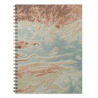 Cadernos Estilo do clássico do vale de Arkansas River