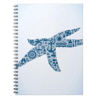 Cadernos Estrela do mar