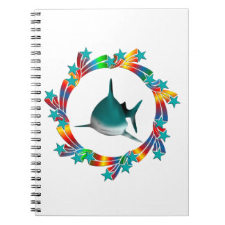 Cadernos Estrelas do tubarão