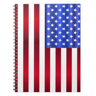 Cadernos Estrelas & listras patrióticas