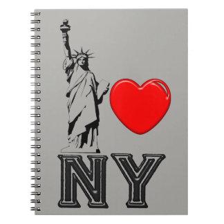 Cadernos Eu amo NY