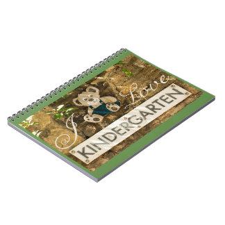 Cadernos Eu amo o jardim de infância