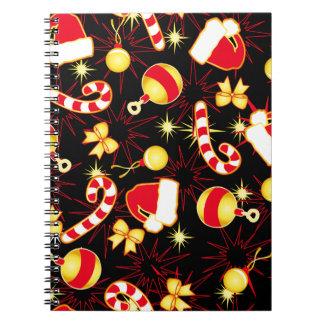 Cadernos Eu amo o teste padrão sem emenda black.ai do papai